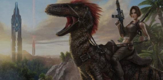 ARK survival evolved PC game for Steam.