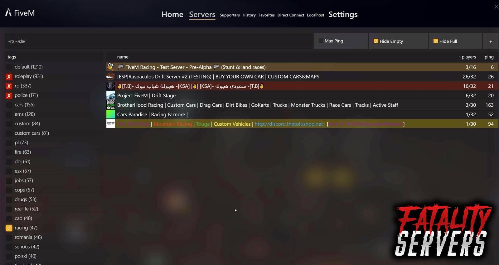 GTA V (FiveM) mod installation