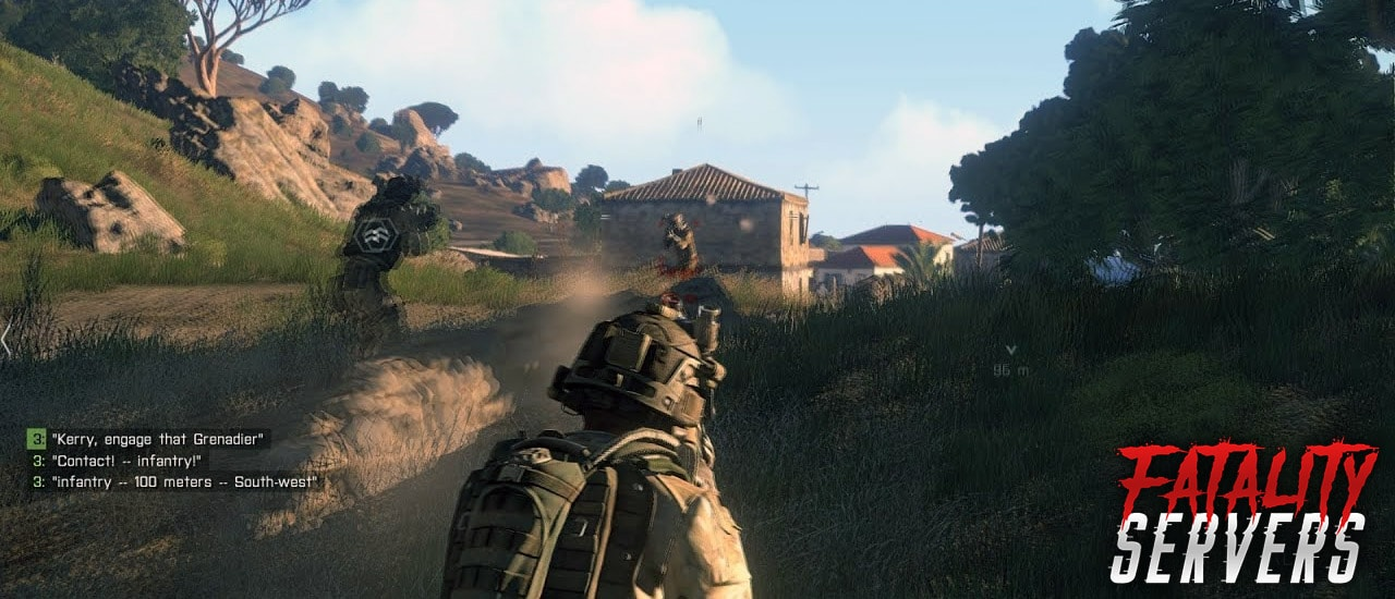 arma 3 gameplay on server