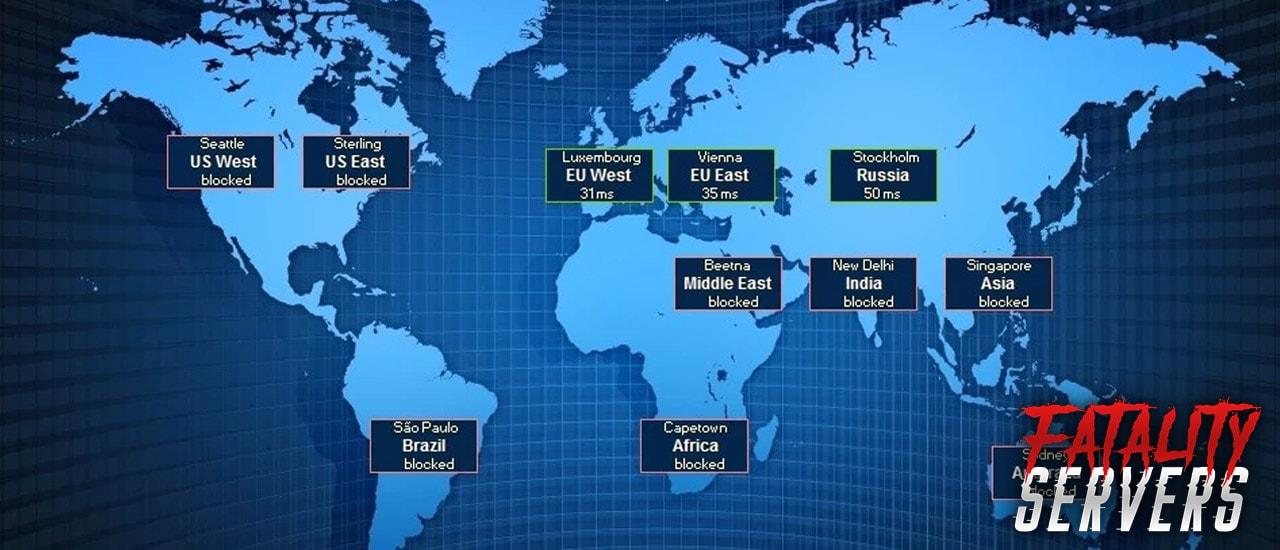 csgo server locations