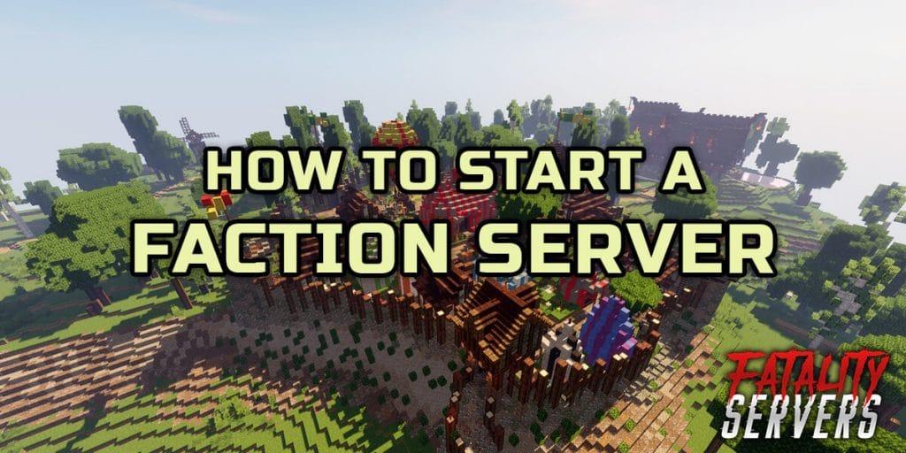Minecraft faction server tutorial guide