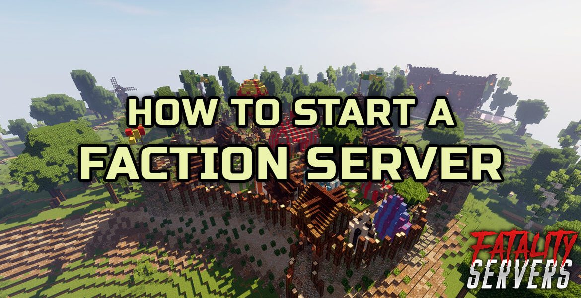 Minecraft faction server tutorial guide