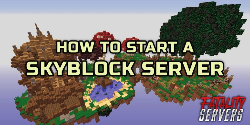 Minecraft Skyblock server tutorial guide