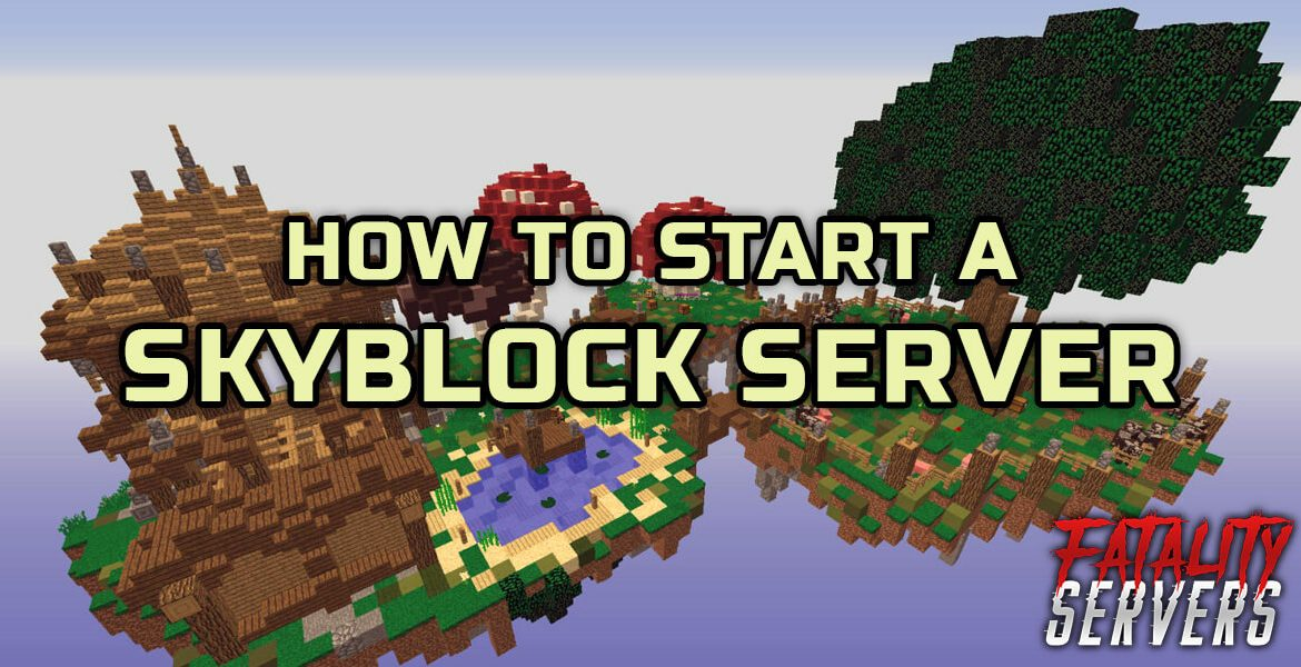Minecraft Skyblock server tutorial guide